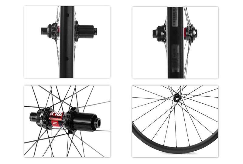 carbon road disc brake wheels details